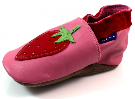 Image of Inch Blue Babyslofjes Online Strawberry Roze Inc21