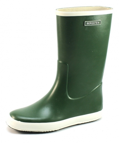 Image of Bergstein Rainboot Women Olive Ber31