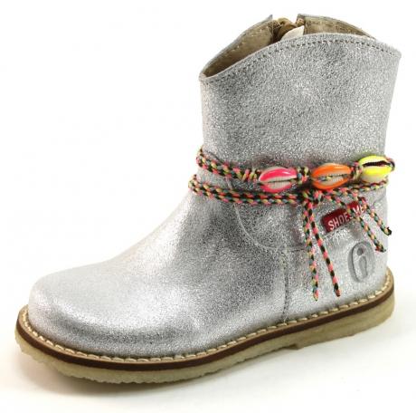 Shoesme CR7S103/C Laarsje Zilver SHO10