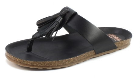Image of Fred De La Bretoniere 170010023 Slipper Zwart Fre21