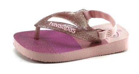 Havaianas slippers Baby Brasil logo Roze HAV03