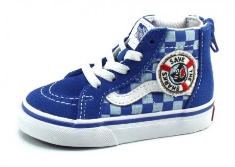 Vans SK8-Hi Zip Blauw VAN89