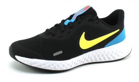 Nike Revolution 5 (GS) Zwart NIK20