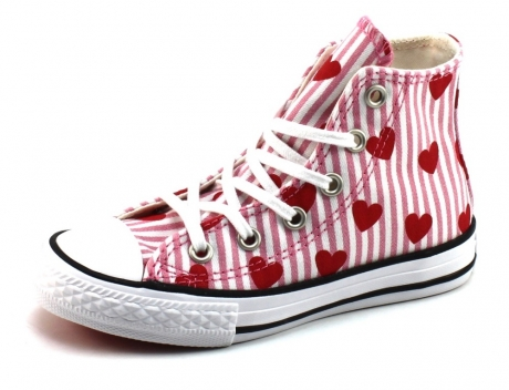 Converse All Star sneaker hartjes Roze CNN93