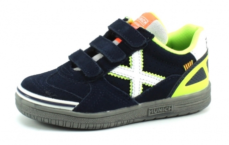 Munich 1514 sneaker Blauw MUN52